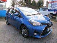 2014 TOYOTA YARIS 1.3 VVT-I ICON M-DRIVE S 5d AUTO 99 BHP £8200.00