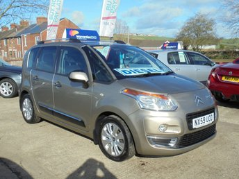 2009 CITROEN C3 PICASSO 1.6 PICASSO EXCLUSIVE HDI 5d 90 BHP *1 OWNER* £30 TAX* EXCELLENT*