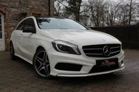USED 2015 15 MERCEDES-BENZ A CLASS 2.1 A200 CDI AMG SPORT 5d AUTO 136 BHP Huge Spec. Panroof ,Leather ,Heated seats, Nav, Night pack