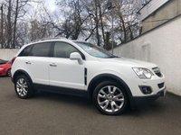 2012 VAUXHALL ANTARA 2.2 SE NAV CDTI 4WD S/S 5d 161 BHP £6995.00