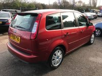 USED 2006 06 FORD C-MAX 1.8 C-MAX GHIA 5d 125 BHP BARGAIN, MOT, PART EXCHANGE TO CLEAR
