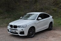 USED 2014 64 BMW X4 2.0 XDRIVE20D M SPORT 4d 188 BHP BIG SPEC REV CAMERA