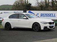 2015 BMW 3 SERIES 2.0 318D M SPORT 4d 148 BHP £15400.00