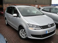 USED 2015 15 VOLKSWAGEN SHARAN 2.0 SE TDI 5d 142 BHP ANY PART EXCHANGE WELCOME, COUNTRY WIDE DELIVERY ARRANGED, HUGE SPEC