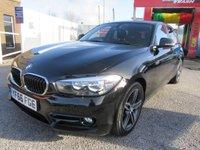 2016 BMW 1 SERIES 1.5 118I SPORT 5d 134 BHP £13000.00