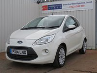 USED 2014 14 FORD KA 1.2 ZETEC 3d 69 BHP PERFECT FIRST CAR