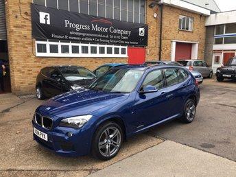 2014 BMW X1 2.0 XDRIVE20D M SPORT 5d 181 BHP £13495.00