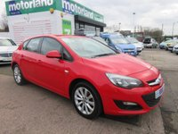 USED 2013 13 VAUXHALL ASTRA 1.6 ACTIVE 5d 113 BHP