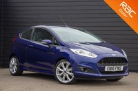 USED 2016 16 FORD FIESTA 1.0 ZETEC S 3d 124 BHP £0 DEPOSIT BUY NOW PAY LATER - FULL FORD S/H