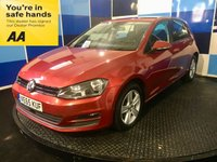 2015 VOLKSWAGEN GOLF 2.0 MATCH TDI BLUEMOTION TECHNOLOGY 5d 148 BHP £9295.00