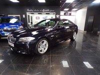 USED 2013 62 BMW 5 SERIES 3.0 530D M SPORT 4d AUTO 255 BHP