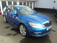 USED 2011 11 SKODA OCTAVIA 2.0 VRS TDI CR 5d 170 BHP Retail price £8995,with £500 minimum part exchange allowance,balance price £8495.