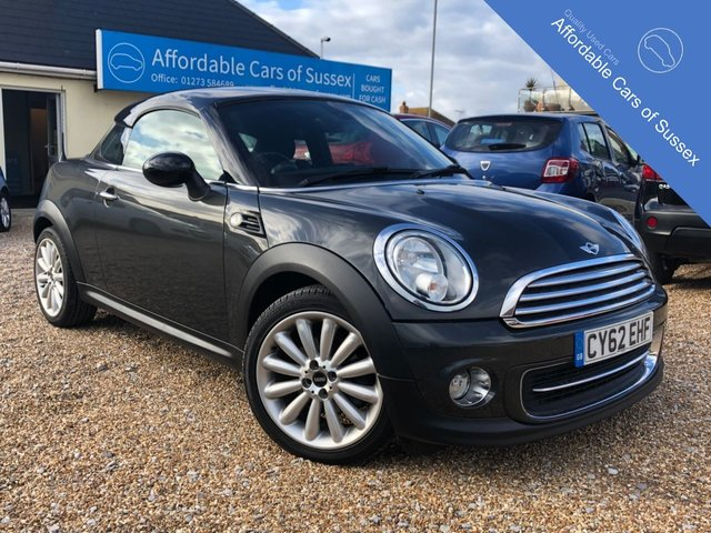 2012 62 MINI COUPE 1.6 COOPER 2d 120 BHP