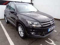 2011 VOLKSWAGEN TIGUAN 2.0 SE TDI BLUEMOTION TECHNOLOGY 4MOTION 5d 138 BHP £9275.00