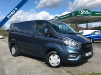 USED 2018 18 FORD TRANSIT CUSTOM 2.0 300 TREND P/V L1 H1 1d 104 BHP Euro 6, New Shape, Bluetooth Phone Connection, Finance Arranged.