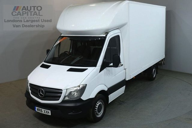 2016 16 MERCEDES-BENZ SPRINTER 2.1 313 CDI 129 BHP LWB WITH TAIL LIFT LUTON VAN REAR BOX LENGTH 13 FOOT