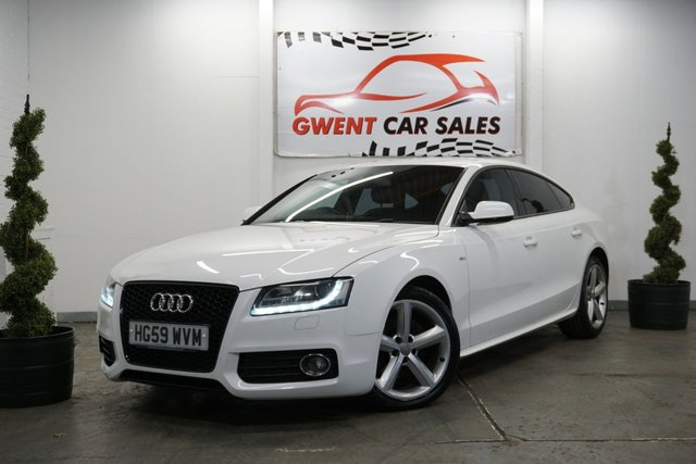 USED 2009 AUDI A5 2.0 SPORTBACK TDI S LINE 5d 168 BHP **NEW CAMBELT,, GOOD CONDITION**