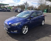 USED 2016 66 FORD FOCUS 1.0 TITANIUM NAVIGATOR ECOBOOST 125 BHP THIS VEHICLE IS AT SITE 1 - TO VIEW CALL US ON 01903 892224