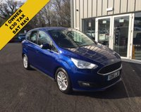 USED 2016 16 FORD C-MAX 1.0 ZETEC NAVIGATOR ECOBOOST 125 BHP THIS VEHICLE IS AT SITE 1 - TO VIEW CALL US ON 01903 892224