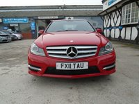 USED 2011 55 MERCEDES-BENZ C CLASS 2.1 C200 CDI BLUEEFFICIENCY SPORT 4d AUTO 135 BHP