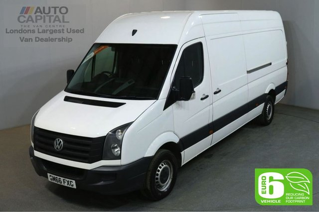 2017 66 VOLKSWAGEN CRAFTER 2.0 CR35 TDI 138 BHP LWB EURO 6 START STOP AIR CON EURO 6 START STOP