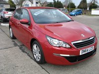 USED 2014 64 PEUGEOT 308 1.6 E-HDI ACTIVE 5d 114 BHP