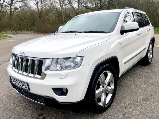 2013 13 JEEP GRAND CHEROKEE 3.0 CRD V6 Overland 4x4 5dr