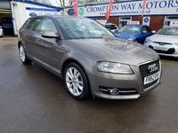 USED 2013 62 AUDI A3 1.6 TDI SPORT 5d 103 BHP 0%  FINANCE AVAILABLE ON THIS CAR PLEASE CALL 01204 393 181