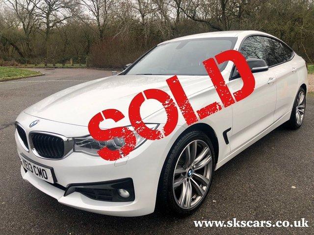 2013 BMW 3 SERIES 2.0 320d Sport GT 5dr Diesel Automatic (s/s) (129 g/km, 184 bhp)