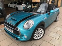 USED 2016 66 MINI CONVERTIBLE 2.0 COOPER S (CHILI/ MEDIA XL) 2d AUTO 189 BHP