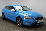 USED 2015 15 VOLVO V40 2.0 D4 R-DESIGN 5DR 187 BHP 1 OWNER FREE ROAD TAX SERVICE HISTORY + FREE 12 MONTHS ROAD TAX + HALF LEATHER SEATS + PARKING SENSOR + BLUETOOTH + CRUISE CONTROL + AIR CONDITIONING + MULTI FUNCTION WHEEL + DAB RADIO + ELECTRIC WINDOWS + 17 INCH ALLOY WHEELS