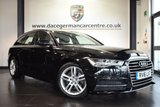 """USED 2016 16 AUDI A6 AVANT 2.0 AVANT TDI ULTRA S LINE 5DR AUTO 188 BHP full audi service history *NO ADMIN FEES* FINISHED IN STUNNING PHANTOM BLACK WITH LEATHER INTERIOR + FULL AUDI SERVICE HISTORY + SATELLITE NAVIGATION + BLUETOOTH + DAB RADIO + CRUISE CONTROL + HEATED MIRRORS + PARKING SENSORS + 18"""" ALLOY WHEELS"""