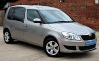 USED 2014 14 SKODA ROOMSTER 1.2 SE TSI DSG 5d AUTO 105 BHP **** VERY LOW MILEAGE AUTOMATIC ****