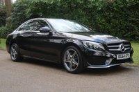 2014 MERCEDES-BENZ C-CLASS 2.0 C200 AMG LINE 4d AUTO 184 BHP £17000.00