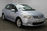 USED 2012 61 TOYOTA AURIS 1.6 TR VALVEMATIC 5DR 132 BHP FULL SERVICE HISTORY FULL SERVICE HISTORY + PARKING SENSOR + BLUETOOTH + CRUISE CONTROL + CLIMATE CONTROL + MULTI FUNCTION WHEEL + RADIO/CD/AUX/USB + ELECTRIC WINDOWS + ELECTRIC MIRRORS + 16 INCH ALLOY WHEELS
