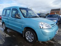 2007 CITROEN BERLINGO 1.6 MULTISPACE FORTE HDI RUN GREAT £1795.00