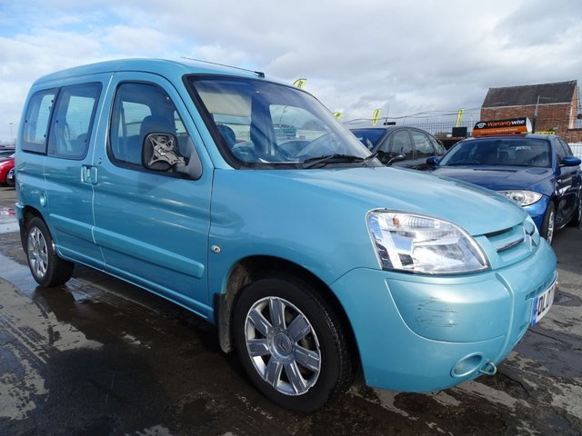 USED 2007 07 CITROEN BERLINGO 1.6 MULTISPACE FORTE HDI RUN GREAT