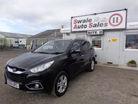 USED 2012 12 HYUNDAI IX35 1.7 PREMIUM CRDI 5 DOOR 114 BHP £41 PER WEEK, NO DEPOSIT - SEE FINANCE LINK