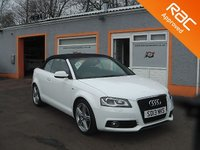 "USED 2013 13 AUDI A3 1.6 TDI S LINE FINAL EDITION 2d 105 BHP 18"" Alloys, Sat Nav, Parking Sensors, Heated Seats, Leather upholstery, Stunning looking car."
