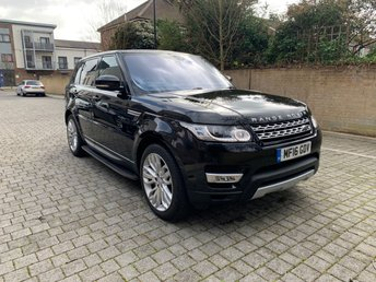 2016 LAND ROVER RANGE ROVER SPORT 3.0 SDV6 HSE 5d AUTO 306 BHP £SOLD