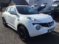 USED 2011 11 NISSAN JUKE 1.6 ACENTA SPORT 5d 117 BHP OUR  PRICE INCLUDES A 6 MONTH AA WARRANTY DEALER CARE EXTENDED GUARANTEE, 1 YEARS MOT AND A OIL & FILTERS SERVICE. 6 MONTHS FREE BREAKDOWN COVER.   CALL US NOW FOR MORE INFORMATION OR TO BOOK A TEST DRIVE ON 01315387070 !!