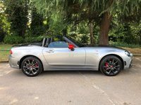 USED 2017 17 ABARTH 124 1.4 SPIDER MULTIAIR 2d 168 BHP HUGE SPEC