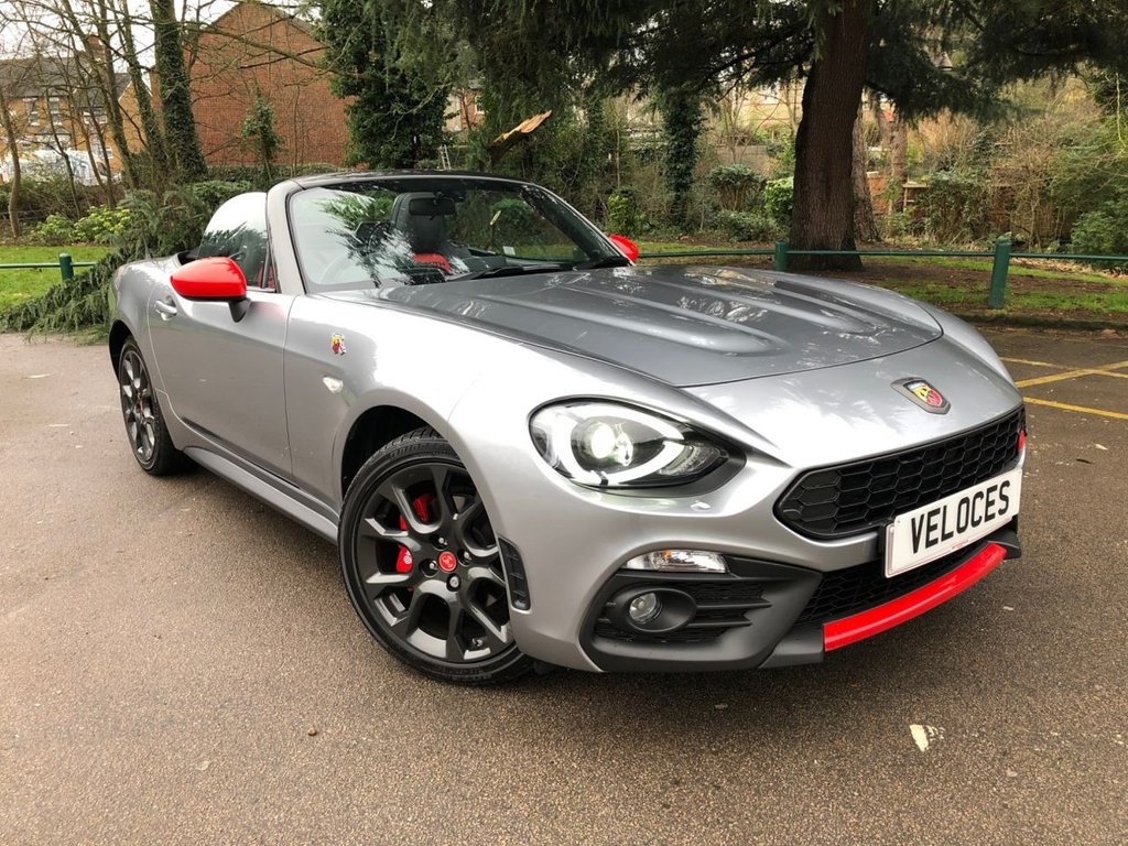 USED 2018 18 ABARTH 124 1.4 SPIDER MULTIAIR 2d 168 BHP HERITAGE PACK