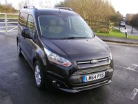 USED 2014 64 FORD TRANSIT CONNECT 1.6 200 LIMITED 114 BHP L1 Van - NO VAT SATNAV, Air Con, 50000 miles, Service History
