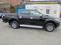 2018 MITSUBISHI L200 2.4 DI-D 4WD BARBARIAN DCB  AUTO 178 BHP  NEW STYLE MODEL EURO 6   METALLIC BLACK  NAPPA  BLACK LEATHER SAT NAVIGATION REAR CAMERA  SIDE STEPS BLUE NEON LIGHT CRUISE  CONTROL  ..REMAIN DEALER WARRANTY  JUST HAD FULL SERVICE  !! CHEAPEST ON WORLD NET ON 2018 !!!! £17500.00