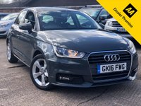 USED 2016 16 AUDI A1 1.6 SPORTBACK TDI SPORT 5dr AUTO 115 BHP One company owner, Full service history.