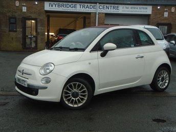 2012 FIAT 500 1.2 C LOUNGE 3d 69 BHP £4495.00