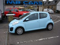 "USED 2013 13 CITROEN C1 1.0 VTR 5d 67 BHP ONLY 11000 MILES FROM NEW.""ZERO ROAD TAX"""