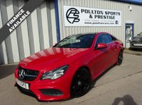 USED 2013 13 MERCEDES-BENZ E 250 AMG sport coupe pan roof leather