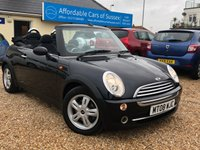 2008 MINI CONVERTIBLE 1.6 ONE 2d 89 BHP £SOLD